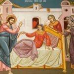 Ζ Λουκά το πένθος του πιστού χριστιανού