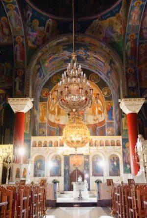 Εσωτερικό Ιερού Ναού Κοιμήσεως Θεοτόκου Ηλιούπολης