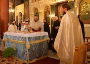 Θεία Λειτουργία Αγ. Ιακώβου Αδελφόθεου 2018