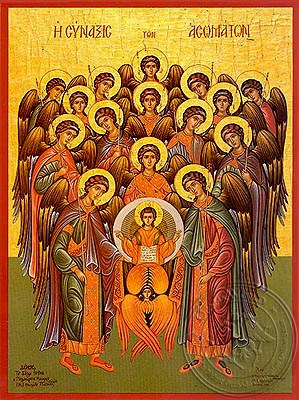 Σύναξη Ασωμάτων_Αγγέλων